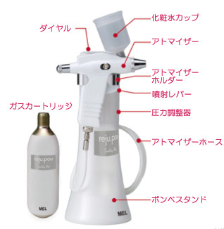 MEL 炭酸ミストシャワー reju・pou(リジュ・ポウ)